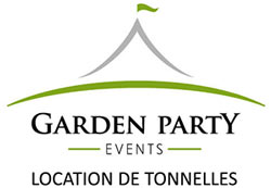 logo garden party events