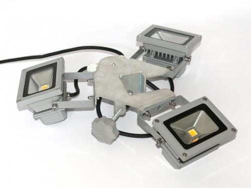éclairage led tente pliable